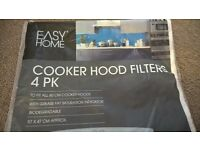 ✨FREE✨ 60cm Cooker hood filters x7 (one full pack, one part used)