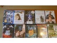 22 DVDs in pristine condition