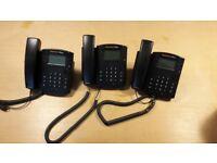 3 x Polycom VVX 310 VOIP phones.
