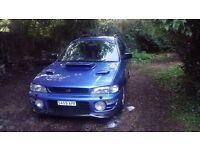 Subaru Impreza 2.0 STI TURBO WRX 1998 S reg spares or repairs £425