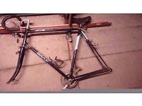 Vintage bsa frame and parts