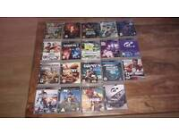 Ps3 games bundle x 19