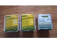 3 x Fletcher Terry Flexible Multipoints / Framerpoints