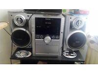 stereo system (hifi) 5 CD changer Panasonic