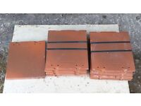 Rosemary tile & a half clay roof tiles 22 No.