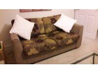 Sofa Bed - 2x Swivel Chairs - FREE