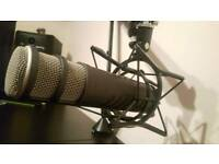 Rode Procaster Microphone with PSA1 Studio Arm and PSM1 Shock Mount