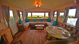 PRE-OWNED STATIC CARAVAN FOR SALE AT WHITLEY BAY HOLIDAY PARK SITE FEES INCLUDED UNTIL 2019