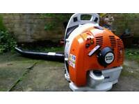 Stihl BR430 petrol back pack blower yr2017
