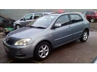 TOYOTA COROLLA DIESEL MOT TILL JUNE EXCELLENT CONDITION DRIVES REALLY WELL