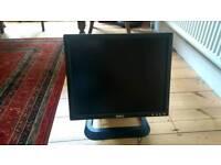 """Dell 17"""" LCD Colour Monitor"""