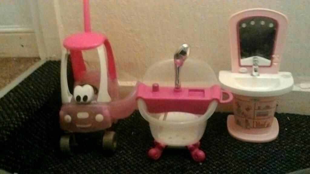 Baby Born Toys For Dolls Car Sink Bath Shower 25 Ono