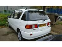 I want to buy Toyota picnic any condition corolla 1.3 starlet 5 door nissan almera upto 99