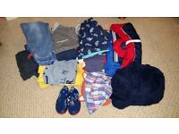 1-2 YEAR OLD BOY CLOTHES BUNDLE FOR SALE