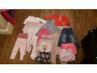9-12month girls clothes bundle