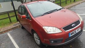 Ford C-max 2006 Automatic, Full year MOT