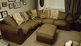 Corner sofa needs gone right now