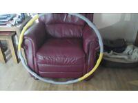 Heavy duty weighted hula hoop