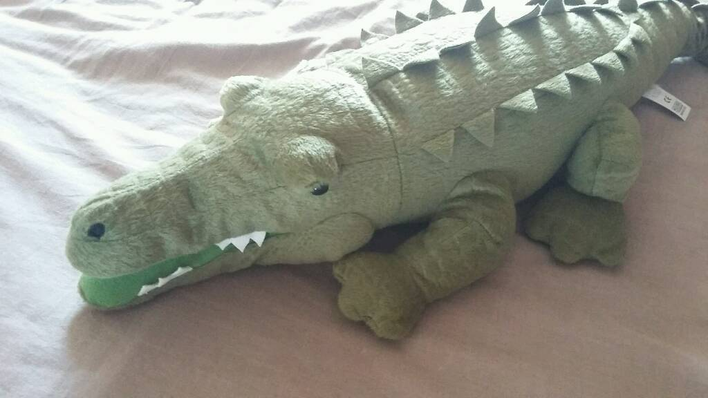 Large Crocodile Soft Toy from Marks and Spencer