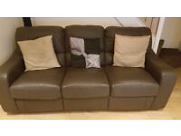3 + 2 Setter Leather Sofa