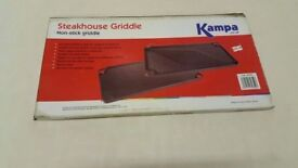 Brand New Kampa Steakhouse Griddle for Caravan, Motorhome, Camping or Home Use