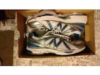 Worn once new balance mens trainers size 10 and a half