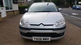 CITROEN C4 HDI SX 2006 WITH LOW MILEAGE AND SERVICE HISTORY