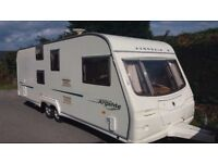 Avondale Argente 2005 6 berth clean twin axle family caravan