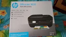 HP Officejet 3830 Printer Scanner Photocopier Fax wifi smart - Brand NEW