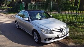 MERCEDES C220 SPORT CDI SILVER- Panoramic Roof