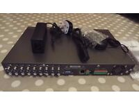 8 Channel Digital Video Recorder DVR for security (1TB HDD included)