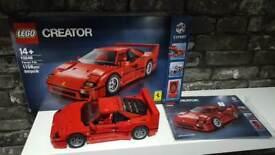 LEGO FERRARI F40 Awesome RARE set