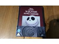 Nightmare Before Christmas Steelbook Blu-ray Sealed