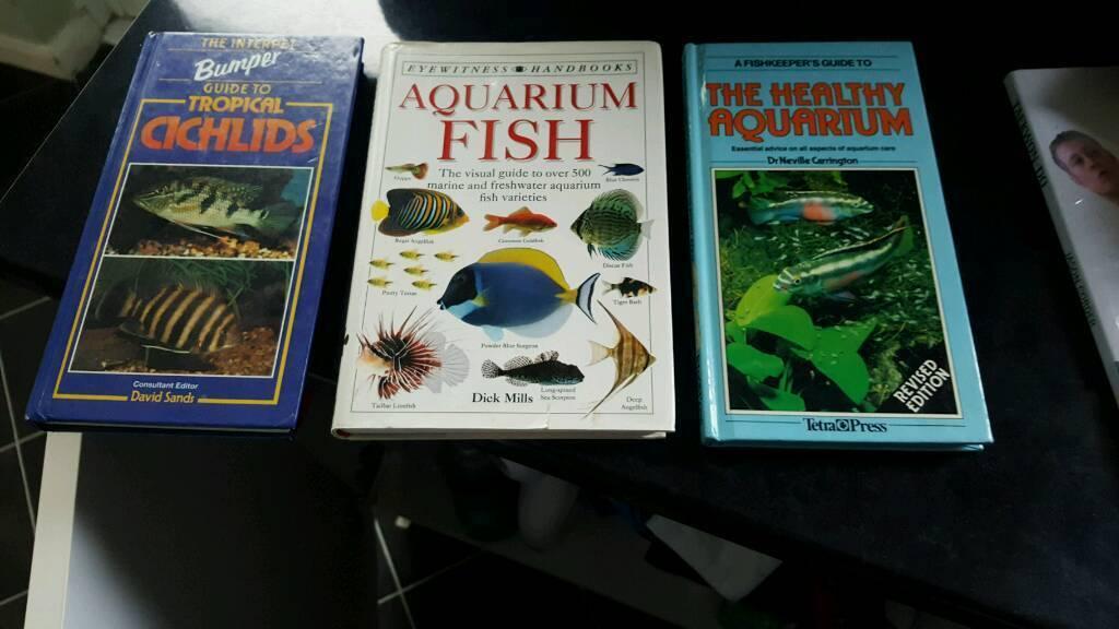 Aquarium fish books