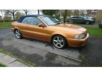 2002 2.0t Volvo C70 convertible only 71k