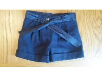NEW! Girls sparkly shorts size 1-1½ yrs