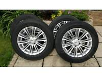 vw t5 alloys with good tyres