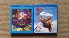 Disney ''Up'' Blu-Ray Disc & ''The Princess And The Frog'' Combi Pack Blu-Ray + DVD Set