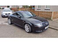 2000 Audi TT Quattro. 11 months MOT. 180bhp. 1.8 litre petrol. Amended.
