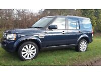 LAND ROVER DISCOVERY 4 2012 3.0 SDV6 XS AUTO BLUE 7 SEATER 67,000