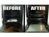 Mobile professional oven and appliance cleaning