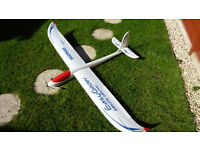 Large electric glider for radio control.