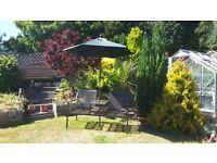 Garden Patio Parasol Sunshade Excellent Condition