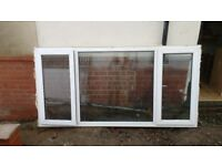 uPVC window, very good used condition. Approx 2m wide
