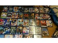 Ps2 slimline console bundle 50 retail games