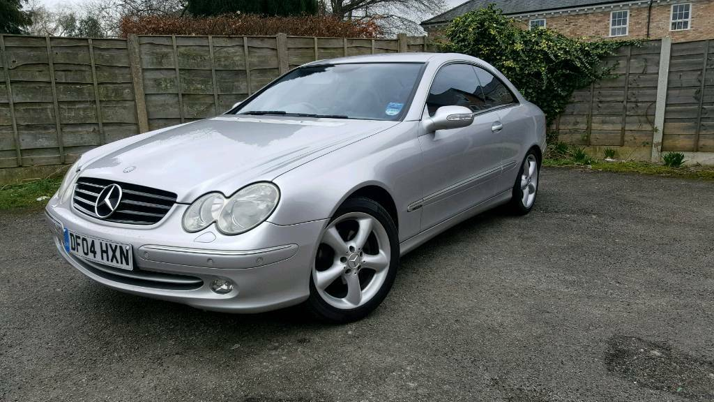 2004 mercedes 200 clk kompressor fsh v5 2 keys in. Black Bedroom Furniture Sets. Home Design Ideas