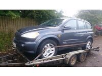 05-10 SSANGYONG KYRON 2.0 DIESEL FOR BREAK PARTS ONLY