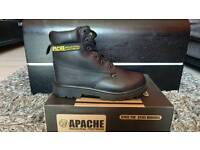 Apache safety work Boots size 10