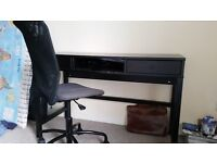 LIKE NEW DESK AND CHAIR