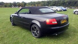 2004 Audi A4 Convertible 1.8 Turbo Sport.